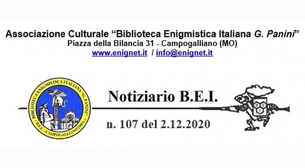 Notiziario B.E.I. n. 107