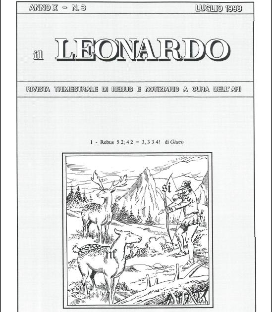 """""""Il Leonardo"""" 1998"""